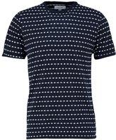 Soulland Fernell Print Tshirt Navy/white