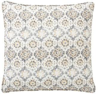 Pottery Barn June Print Pillow Cover - Neutral Multi