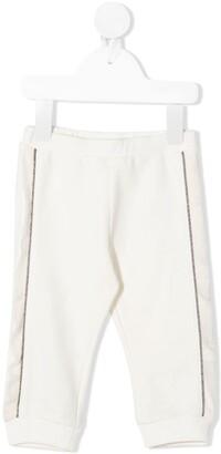Moncler Enfant Side-Stripe Track Pants