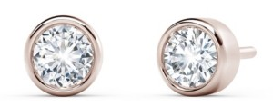 Forevermark Tribute Collection Diamond (1/3 ct. t.w.)Studs in 18k Yellow, White and Rose Gold