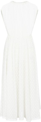 Jil Sander Cloque jersey midi dress