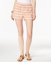 MICHAEL Michael Kors Pull-On Striped Shorts