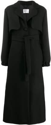Blumarine Be Lapel Long Coat