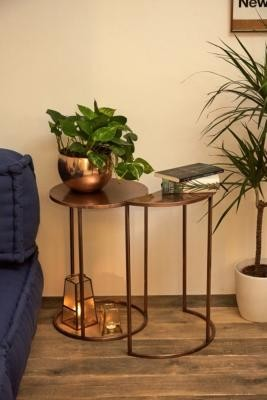 Urban Outfitters Moon Nesting Tables - Brown ALL at