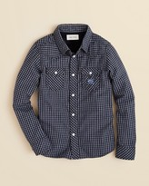 Diesel Boys Cufiggi Check Shirt - Sizes 4-7