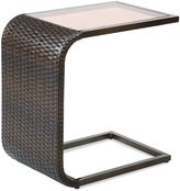 Bed Bath & Beyond Barrington Wicker C-Shaped Accent Table