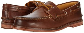 Sperry Gold Cup A/O 2-Eye Leather Sole (Cashew) Men's Shoes