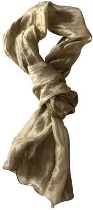 Ralph Lauren Gold Silk Scarves