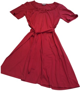 La Perla Red Cotton Dresses
