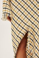 Topshop Gingham Spiral Skirt by Boutique