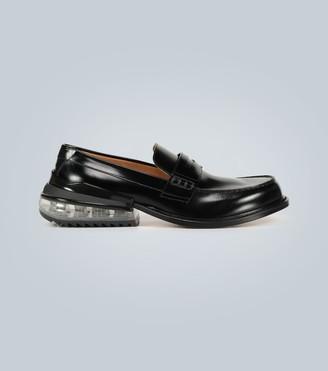 Maison Margiela Airbag heel leather loafers