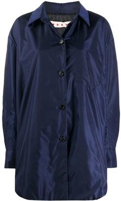 Marni Technical Fabric Buttoned Jacket