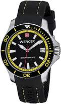 Wenger 01.0621.101 - Women's Watch, Silicon, Black Color