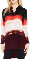 Vince Camuto Women's Brushstroke Horizons Tunic Shirt