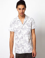 Shirt with Tropical Print