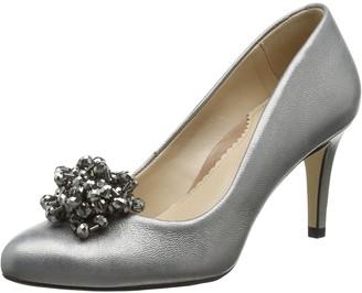 Van Dal Women's Albion II Closed-Toe Heels in Silver (Mercury Metallic)