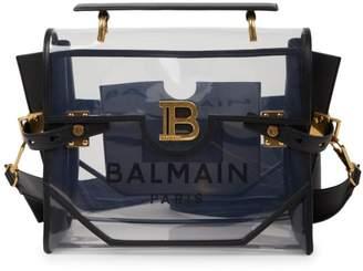 Balmain B-Buzz 30 Transparent Shoulder Bag