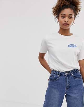 Pepe Jeans Anniv back logo t-shirt