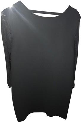 Sandro Black Lace Dress for Women