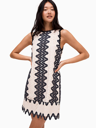 Kate Spade Sand Dune Lace Shift Dress