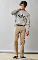 Dickies Slim Fit Tapered Leg Tan Work Pants