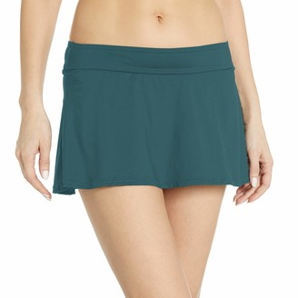 Anne Cole Women's Color Blast Solids Rock Swim Skirt Bottom