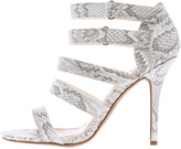 Wild Diva White Strappy Heel