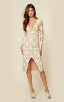 For love and lemons metz midi dress