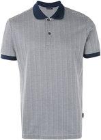 Pal Zileri contrast collar polo shirt - men - Cotton - M