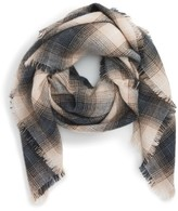 BP Women's Check Square Scarf