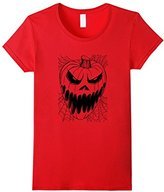 Hybrid Scary Jack O Lantern Halloween T Shirt
