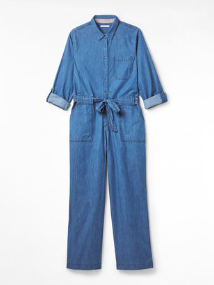 White Stuff Forecast Denim Boilersuit