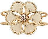 Belle Badgley Mischka Fancy Flower Hinge Bracelet