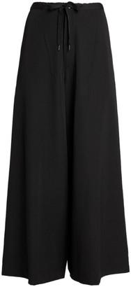 Yohji Yamamoto Wide-Leg Drawstring Trousers