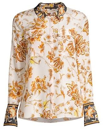 Kobi Halperin Alisa Floral Silk Blouse