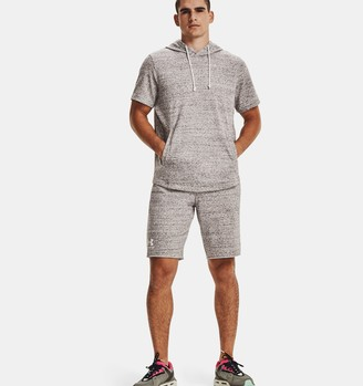 Under Armour Men's UA Rival Terry Short Sleeve Hoodie