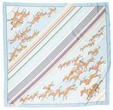 Hermes Les Courses Silk Scarf