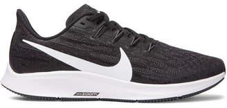 Nike Running - Air Zoom Pegasus 36 Mesh Running Sneakers - Black