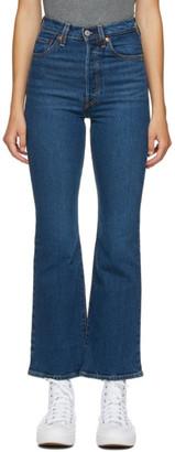 Levi's Levis Blue Ribcage Bootcut Jeans