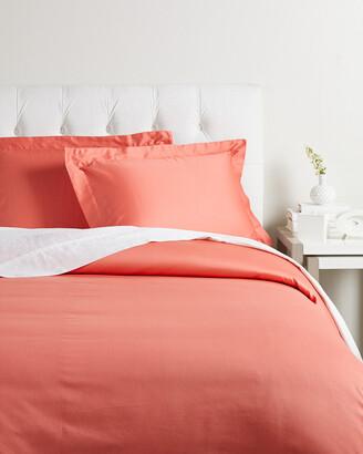 Superior 300 Thread Count Premium Long-Staple Combed Cotton Solid Duvet Cover