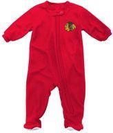 Reebok Baby Chicago Blackhawks Footed Pajamas