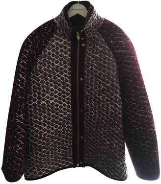 Alexander Wang Burgundy Wool Coats