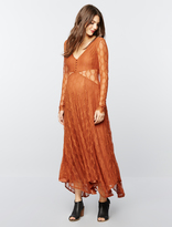 A Pea in the Pod Free People Lace Maternity Maxi Dress