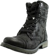 Roxy Riley J Round Toe Canvas Combat Boot.