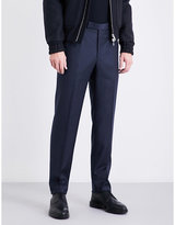 Richard James Regular-fit straight wool trousers