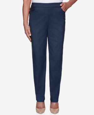 Alfred Dunner Petite Classics Proportioned Short Allure Denim Pants