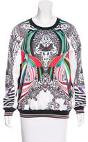 Clover Canyon Printed Pullover Sweatshirt
