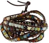 Chan Luu Multi-Stone Wrap Bracelet