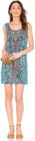 Tolani Rita Mini Dress in Teal