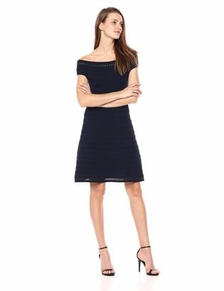 Brinker & Eliza Women's Off-The Shoulder Knit Dress